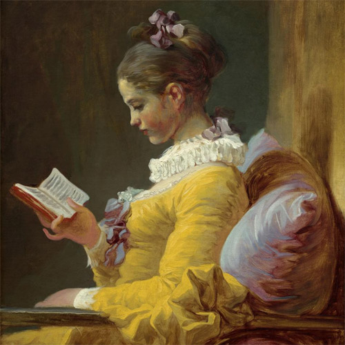 Fragonard, Young Girl Reading