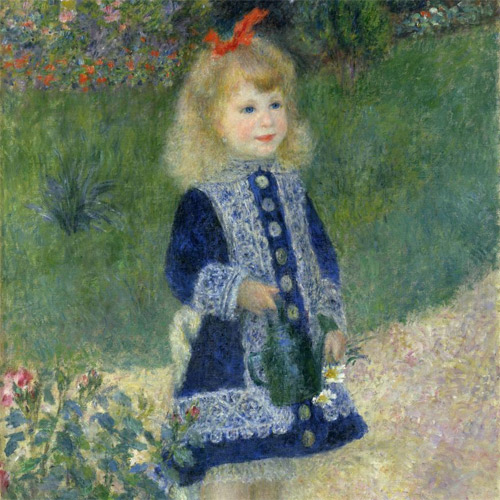 Renoir, Girl with a Watering Can