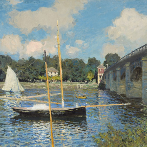 Monet, Bridge at Argenteuil