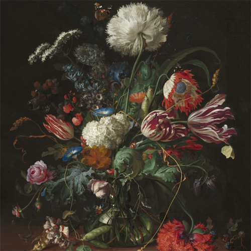 de Heem, Vase of Flowers