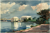 Winslow Homer - Salt Kettle, Bermuda, 1899