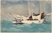 Winslow Homer - Key West, Hauling Anchor, 1903