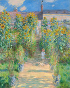 Claude Monet - The Artist's Garden at Vétheuil, 1880
