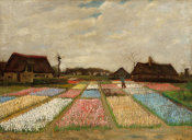 Vincent van Gogh - Flower Beds in Holland, c. 1883