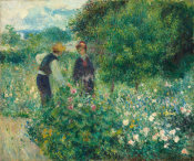Auguste Renoir - Picking Flowers, 1875