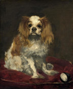Edouard Manet - A King Charles Spaniel, c. 1866 height=