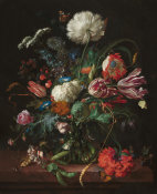 Jan Davisz de Heem - Vase of Flowers, c. 1660