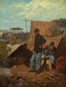 Winslow Homer - Home, Sweet Home, c. 1863