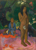 Paul Gauguin - Parau na te Varua ino (Words of the Devil),1892