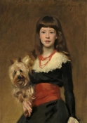 John Singer Sargent - Miss Beatrice Townsend, 1882 height=