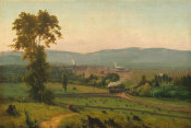 George Inness - The Lackawanna Valley, c. 1856
