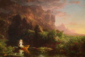 Thomas Cole - The Voyage of Life: Childhood, 1842