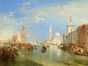 Joseph Mallord William Turner - Venice: The Dogana and San Giorgio Maggiore, 1834