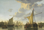 Aelbert Cuyp - The Maas at Dordrecht, c. 1650