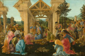 Sandro Botticelli - The Adoration of the Magi, c. 1478/1482