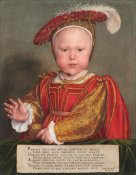 Hans Holbein the Younger - Edward VI as a Child, probably 1538
