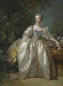 François Boucher - Madame Bergeret, possibly 1766 height=