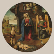 Piero di Cosimo - The Nativity with the Infant Saint John, c. 1495/1505