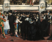 Edouard Manet - Masked Ball at the Opera, 1873