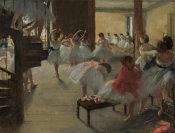 Edgar Degas - The Dance Class, c. 1873
