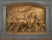 Augustus Saint-Gaudens - Shaw Memorial, 1900 height=