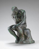 Auguste Rodin - The Thinker (Le Penseur), 1880