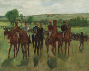 Edgar Degas - The Riders, c. 1885