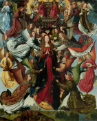 Master of the Saint Lucy Legend - Mary, Queen of Heaven, c. 1485/1500
