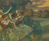 Edgar Degas - Four Dancers, c. 1899