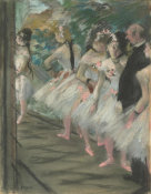 Edgar Degas - The Ballet, c. 1880
