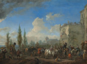 Philips Wouwerman - The Departure for the Hunt, c. 1665/1668
