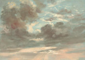 John Constable - Cloud Study: Stormy Sunset, 1821-1822