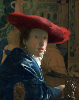 Johannes Vermeer - Girl with the Red Hat, c. 1665/1666