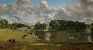 John Constable - Wivenhoe Park, Essex, 1816