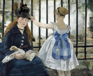 Edouard Manet - The Railway, 1873