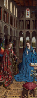 Jan van Eyck - The Annunciation, c. 1434/1436