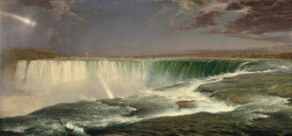 Frederic Edwin Church - Niagara, 1857
