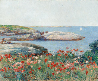 Childe Hassam - Poppies, Isles of Shoals