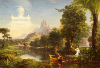 Thomas Cole - The Voyage of Life: Youth, 1842