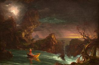 Thomas Cole - The Voyage of Life: Manhood, 1842