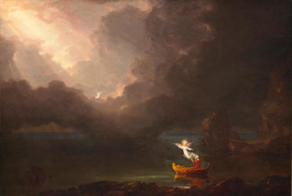 Thomas Cole - The Voyage of Life: Old Age, 1842