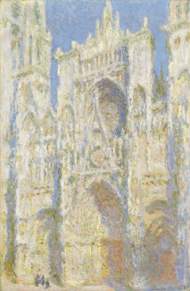 Claude Monet - Rouen Cathedral, West Façade, 1894