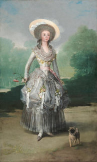 Francisco de Goya - The Marquesa de Pontejos, c. 1786