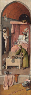 Hieronymus Bosch - Death and the Miser, c. 1485/1490