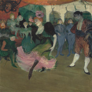 Henri de Toulouse-Lautrec - Marcelle Lender Dancing the Bolero in