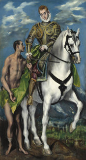El Greco - Saint Martin and the Beggar, 1597/1599