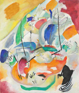 Wassily Kandinsky - Improvisation 31 (Sea Battle), 1913