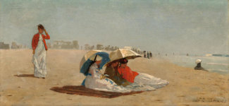 Winslow Homer - East Hampton Beach, Long Island, 1874
