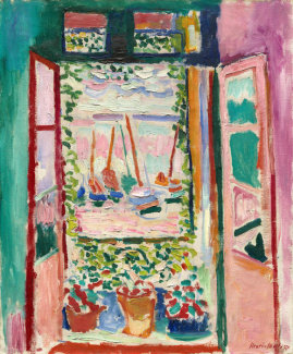 Henri Matisse - Open Window, Collioure, 1905