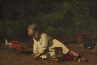 Thomas Eakins - Baby at Play, 1876